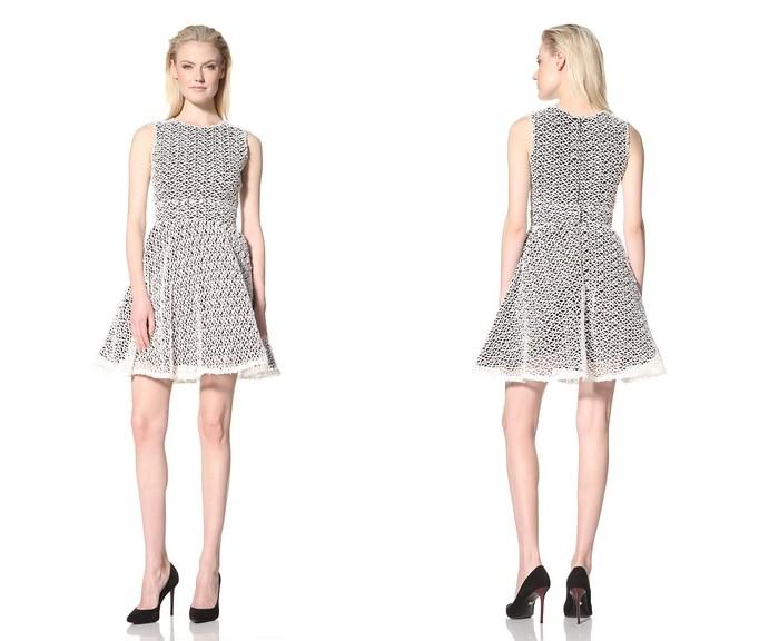 RODARTE Fit-and-Flare Dress