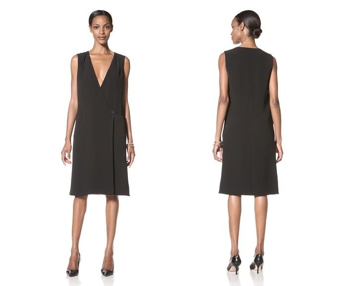 GIORGIO ARMANI Silk Wrap Dress
