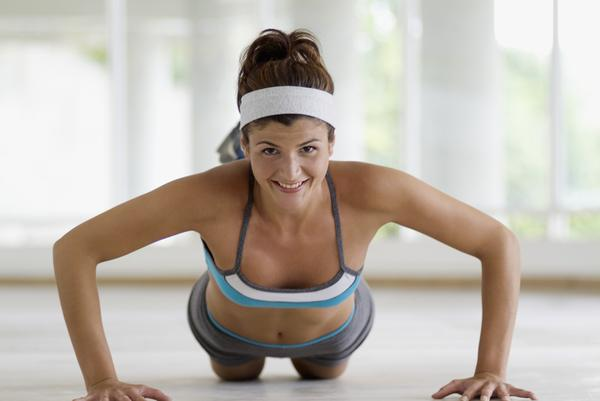 chest exercice women