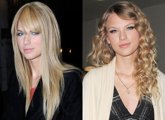 straight hair before and after